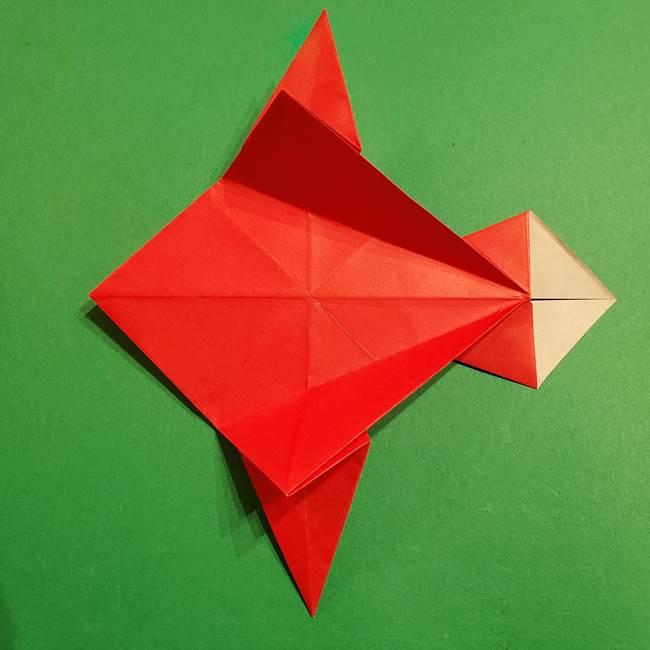 コイキングの折り紙は簡単!実際の折り方作り方(37)