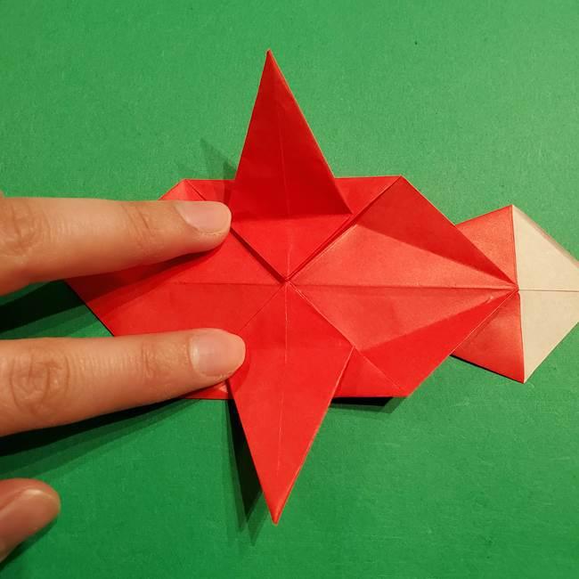 コイキングの折り紙は簡単!実際の折り方作り方(38)