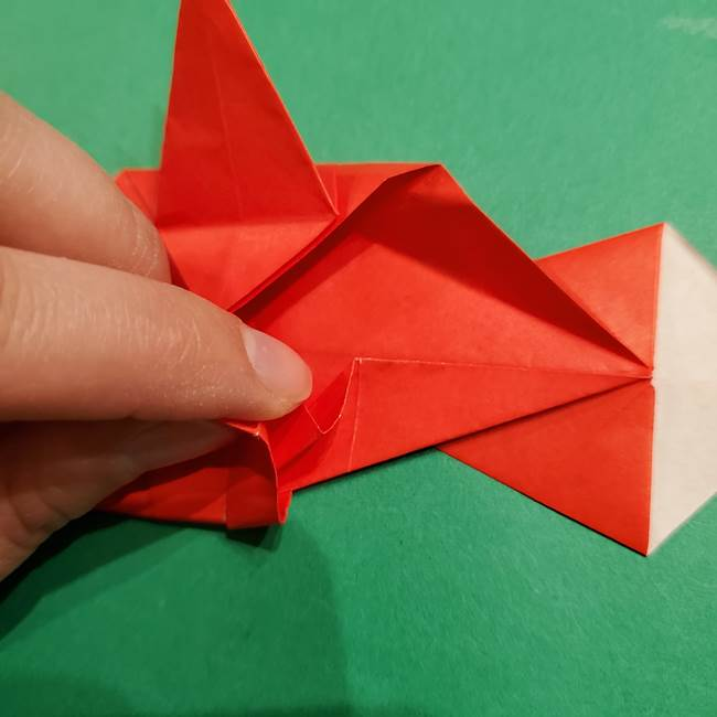 コイキングの折り紙は簡単!実際の折り方作り方(39)