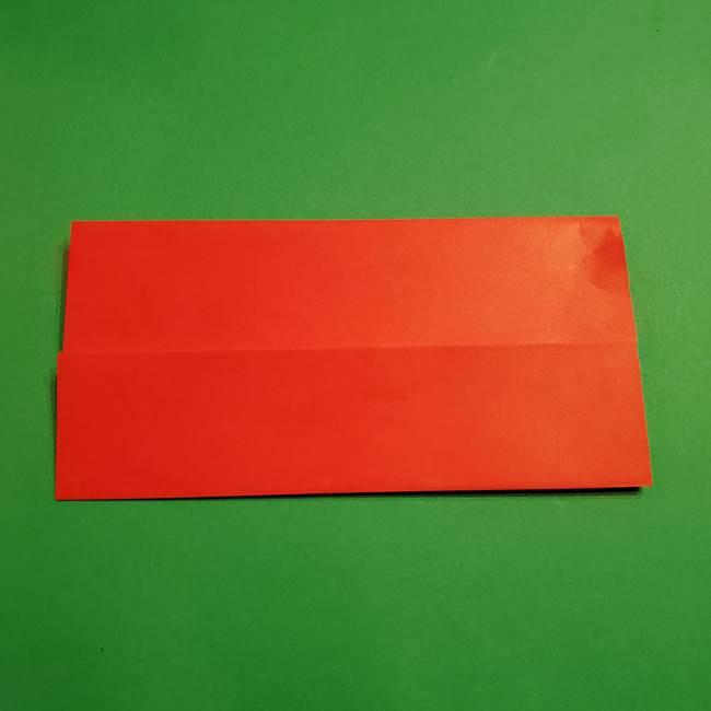 コイキングの折り紙は簡単!実際の折り方作り方(4)