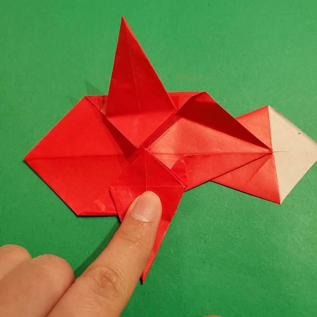 コイキングの折り紙は簡単!実際の折り方作り方(40)