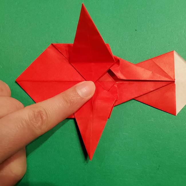 コイキングの折り紙は簡単!実際の折り方作り方(41)