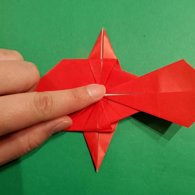 コイキングの折り紙は簡単!実際の折り方作り方(42)