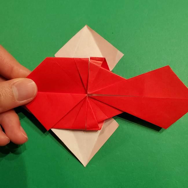 コイキングの折り紙は簡単!実際の折り方作り方(43)