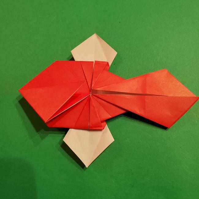 コイキングの折り紙は簡単!実際の折り方作り方(46)
