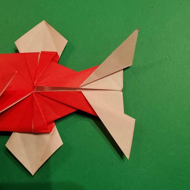 コイキングの折り紙は簡単!実際の折り方作り方(47)