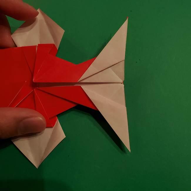 コイキングの折り紙は簡単!実際の折り方作り方(48)