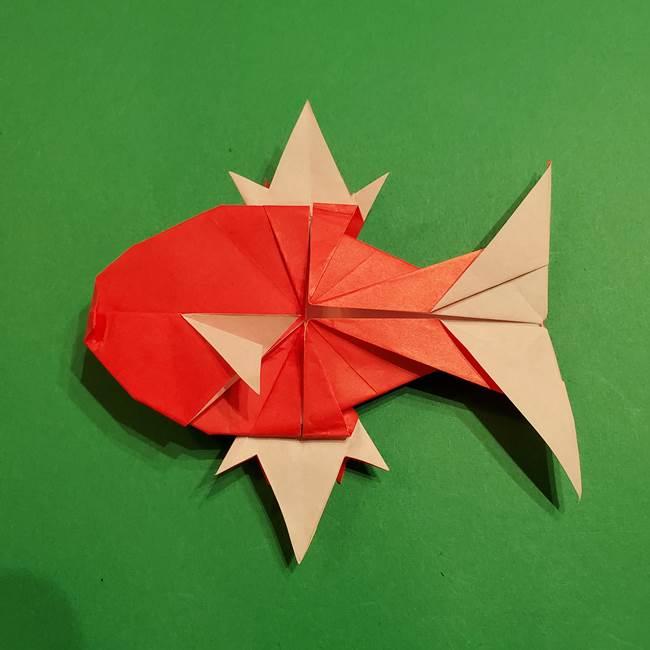コイキングの折り紙は簡単!実際の折り方作り方(57)