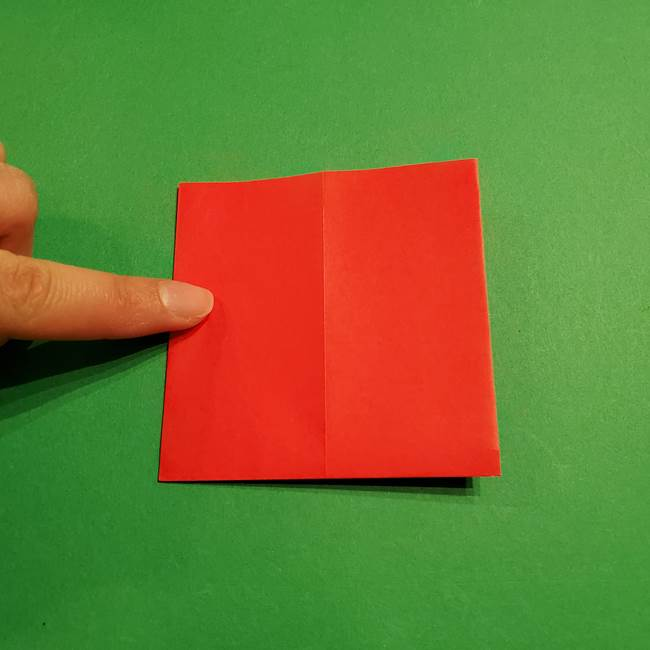 コイキングの折り紙は簡単!実際の折り方作り方(6)