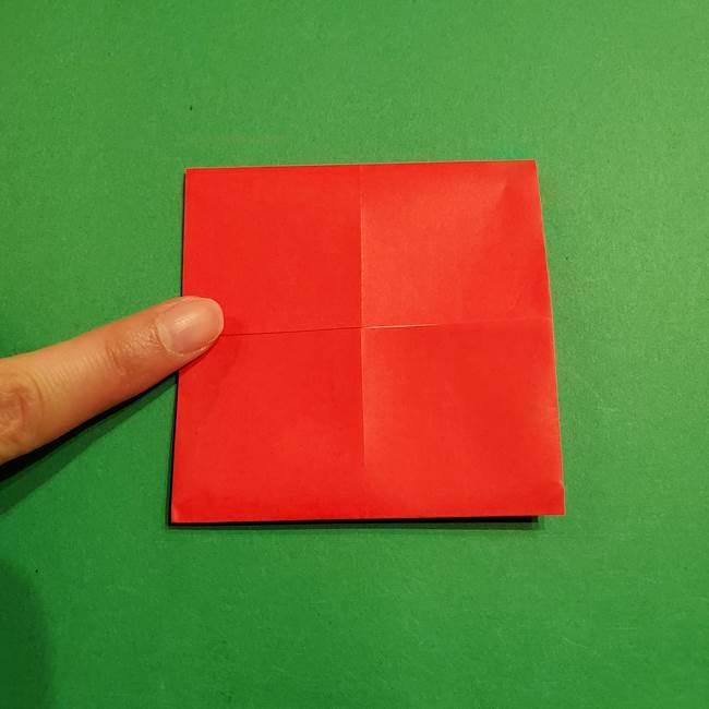 コイキングの折り紙は簡単!実際の折り方作り方(8)