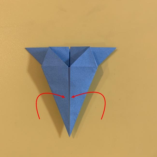 ジジの折り紙 作り方折り方 (11)