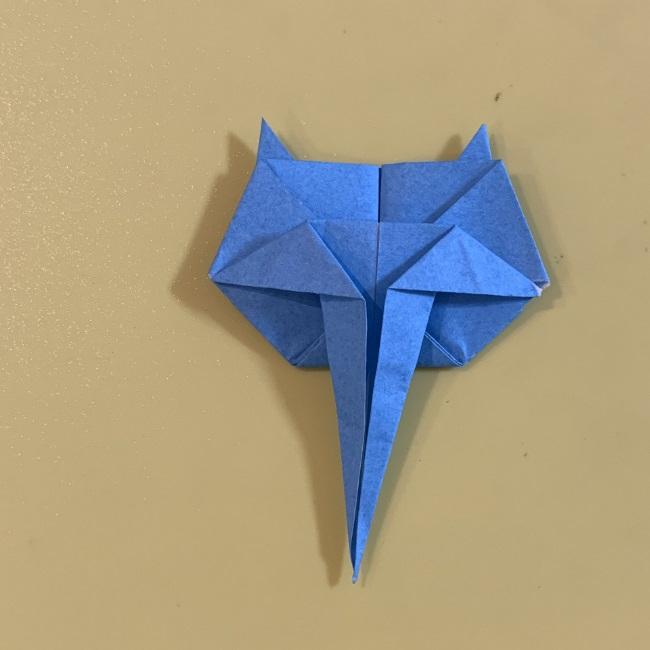 ジジの折り紙 作り方折り方 (24)