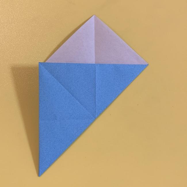 ジジの折り紙 作り方折り方 (3)