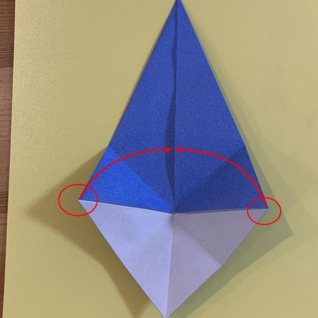 ジジの折り紙 作り方折り方 (34)