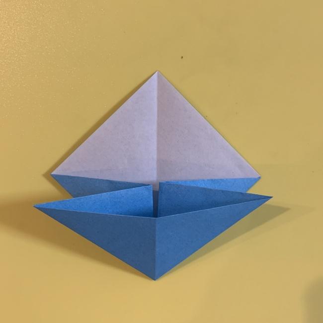 ジジの折り紙 作り方折り方 (5)