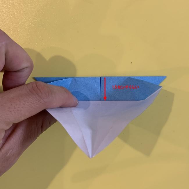 ジジの折り紙 作り方折り方 (9)