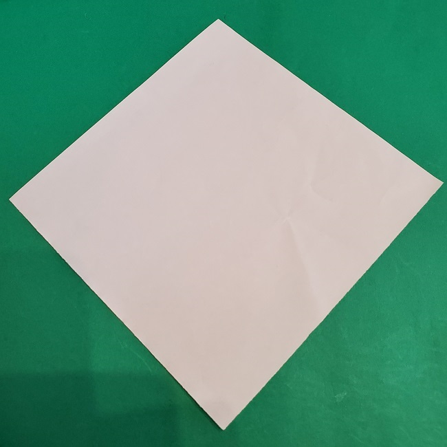 セーラームーンの折り紙の折り方作り方☆ドレス (1)