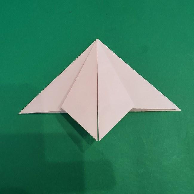 セーラームーンの折り紙の折り方作り方☆ドレス (10)