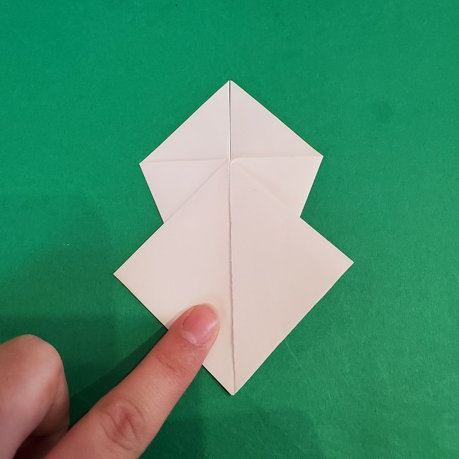 セーラームーンの折り紙の折り方作り方☆ドレス (12)