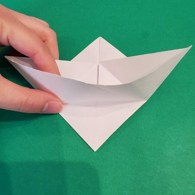 セーラームーンの折り紙の折り方作り方☆ドレス (14)