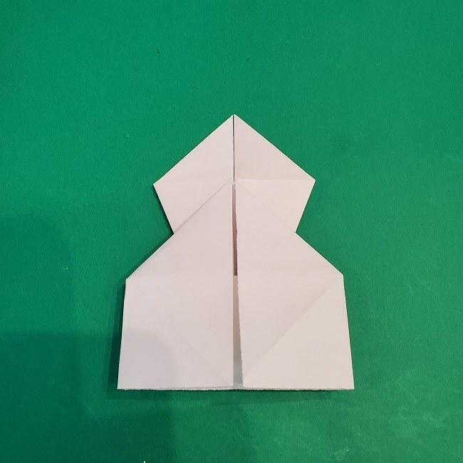 セーラームーンの折り紙の折り方作り方☆ドレス (15)