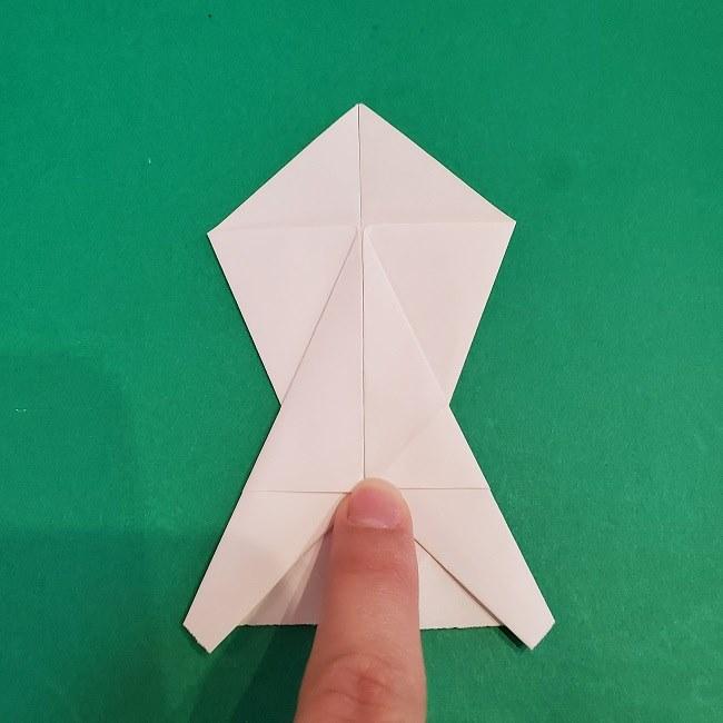 セーラームーンの折り紙の折り方作り方☆ドレス (16)