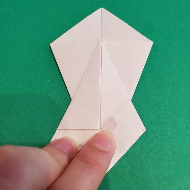 セーラームーンの折り紙の折り方作り方☆ドレス (18)