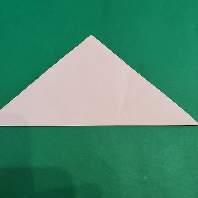 セーラームーンの折り紙の折り方作り方☆ドレス (2)