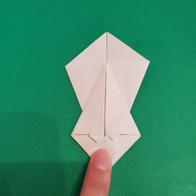 セーラームーンの折り紙の折り方作り方☆ドレス (20)
