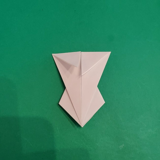 セーラームーンの折り紙の折り方作り方☆ドレス (22)