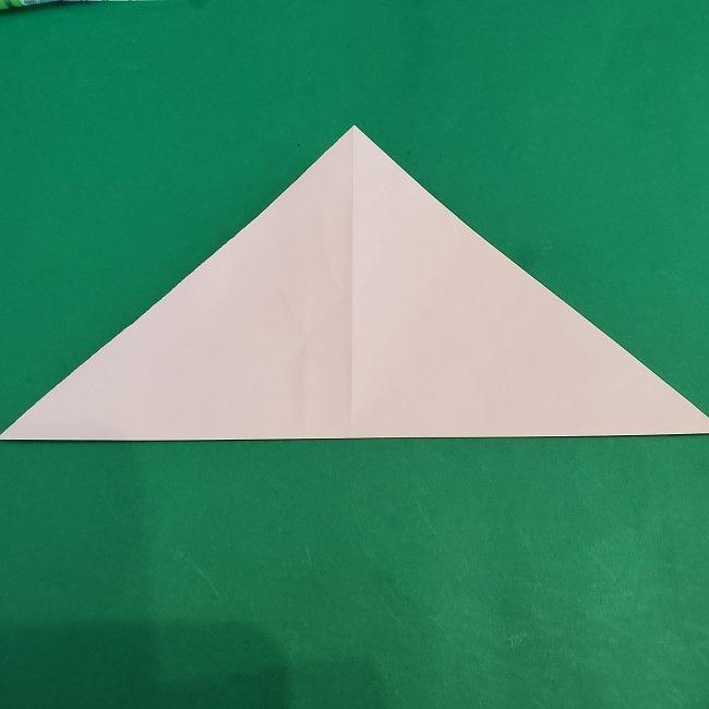 セーラームーンの折り紙の折り方作り方☆ドレス (3)