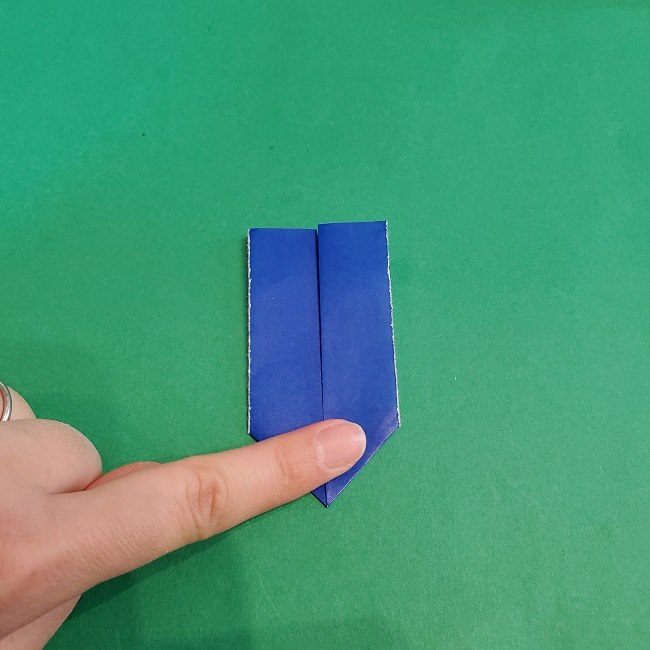 セーラームーンの折り紙の折り方作り方☆ドレス (30)