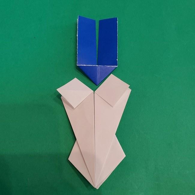 セーラームーンの折り紙の折り方作り方☆ドレス (31)