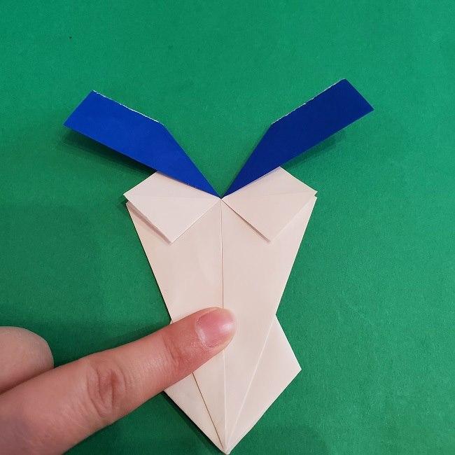 セーラームーンの折り紙の折り方作り方☆ドレス (34)