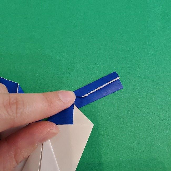 セーラームーンの折り紙の折り方作り方☆ドレス (37)