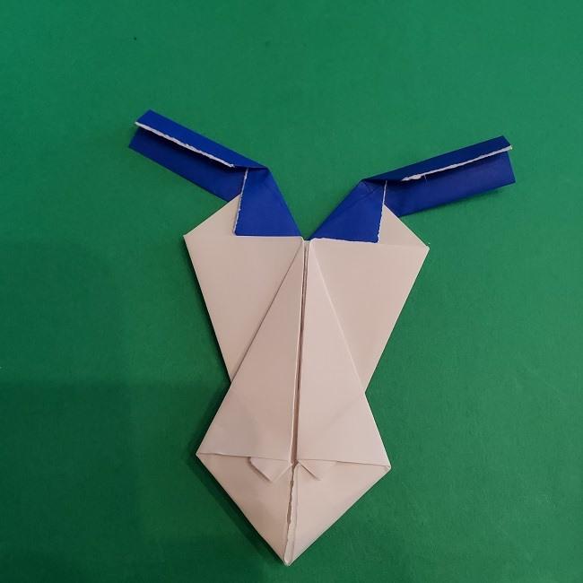 セーラームーンの折り紙の折り方作り方☆ドレス (38)