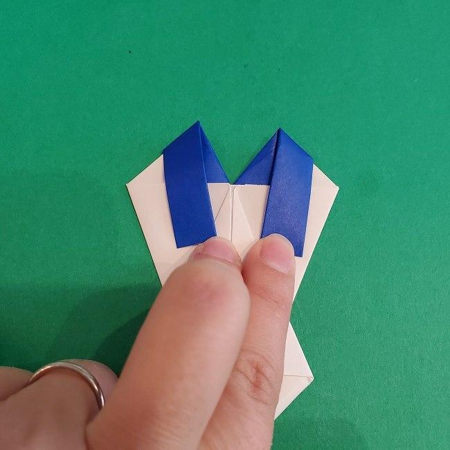 セーラームーンの折り紙の折り方作り方☆ドレス (39)