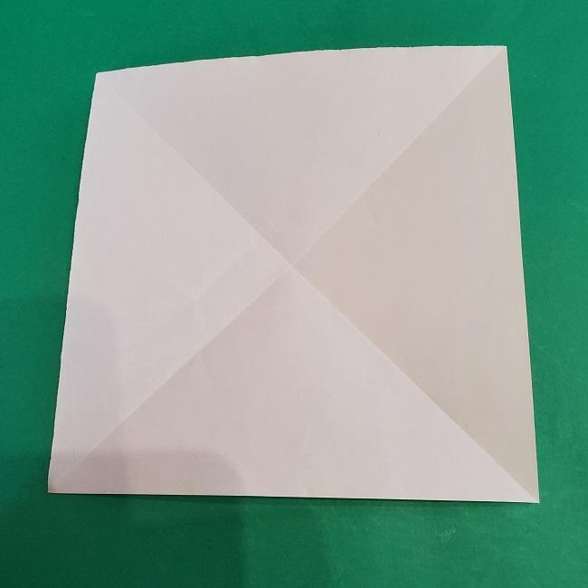 セーラームーンの折り紙の折り方作り方☆ドレス (4)