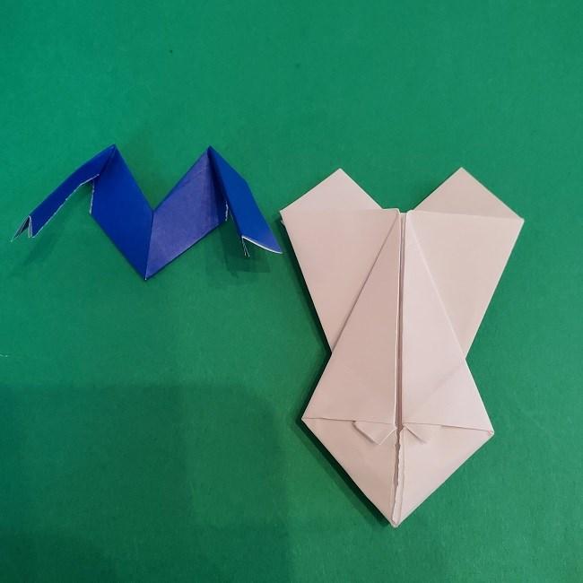 セーラームーンの折り紙の折り方作り方☆ドレス (40)