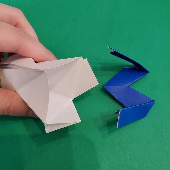 セーラームーンの折り紙の折り方作り方☆ドレス (41)