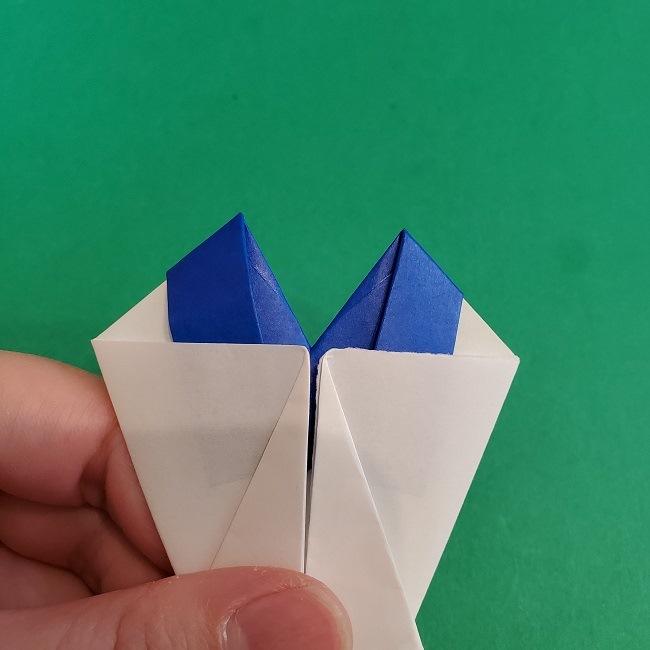 セーラームーンの折り紙の折り方作り方☆ドレス (42)