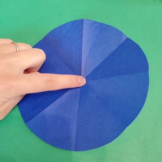 セーラームーンの折り紙の折り方作り方☆ドレス (49)