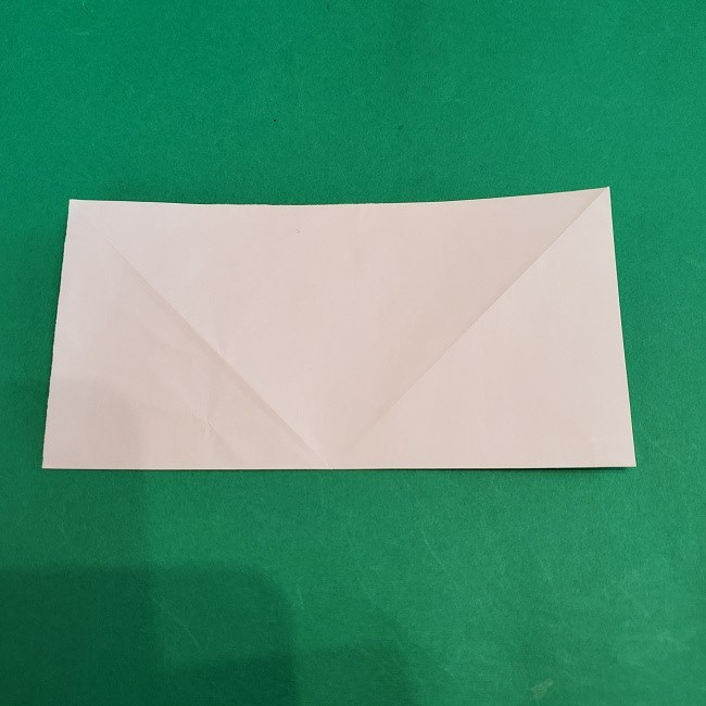 セーラームーンの折り紙の折り方作り方☆ドレス (5)