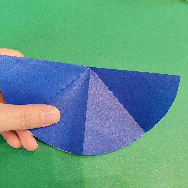 セーラームーンの折り紙の折り方作り方☆ドレス (50)