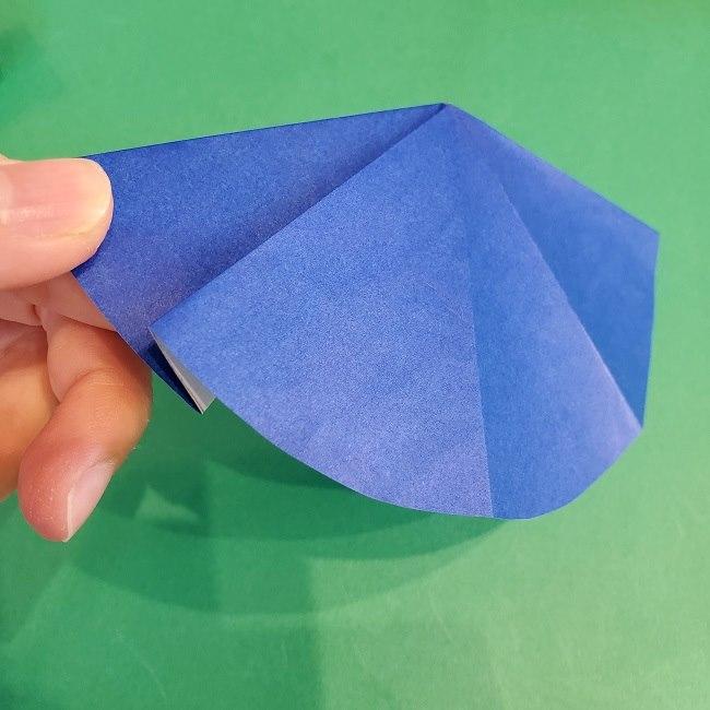 セーラームーンの折り紙の折り方作り方☆ドレス (51)