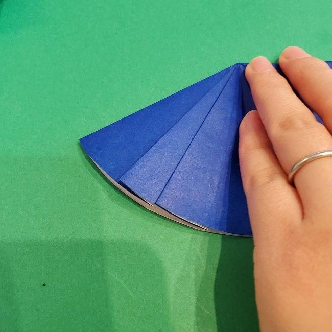 セーラームーンの折り紙の折り方作り方☆ドレス (52)