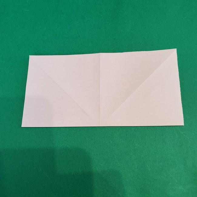 セーラームーンの折り紙の折り方作り方☆ドレス (6)