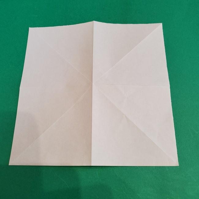 セーラームーンの折り紙の折り方作り方☆ドレス (7)