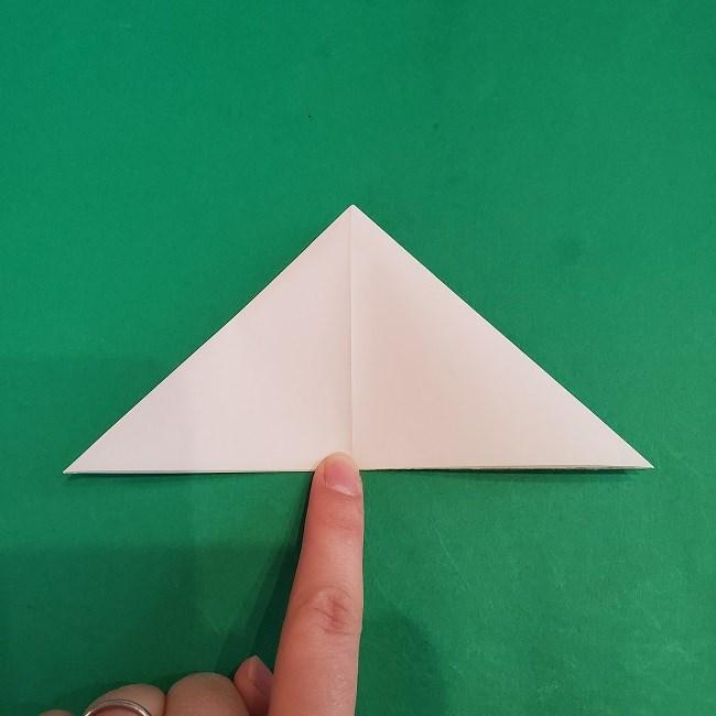 セーラームーンの折り紙の折り方作り方☆ドレス (9)
