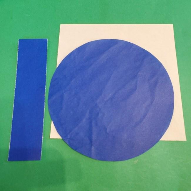セーラームーンの折り紙ドレス(制服)*用意する折り紙 (1)
